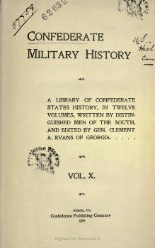 Confederate Military History - 1899 - Volume 10.djvu