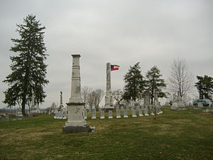 Confederate Monument in Cynthiana - Image: Confederate Monument in Cynthiana 2