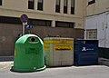 Contenidors de reciclatge a Gandia.JPG