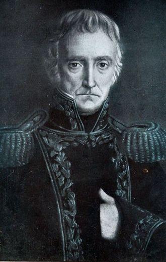 Regiment of Patricians - Cornelio Saavedra, first commander of the Patricians Regiment.