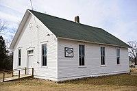 Corner View White Cloud Presbyterian Church And Cemetery Fulton, Missouri.jpg