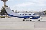 Corporate Aircraft Charter (VH-URU) Beechcraft B200 Super King Air taxiing at Wagga Wagga Airport.jpg
