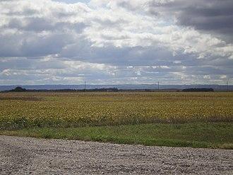 Coteau des Prairies - Image: Coteau Des Prairies From Northeast