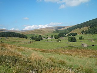 Cotterdale Dale and hamlet in North Yorkshire, England