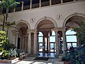 Courtyard at Vizcaya with anemometer for wind measurement IMG 20190918 144317726 HDR.jpg