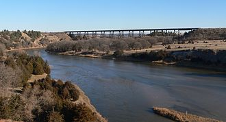 Cowboy Trail - Bridge across Niobrara River southeast of Valentine