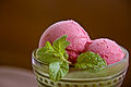 Cranberry sorbet with clementines and mint (3138859555).jpg