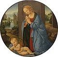 Credi, Lorenzo di - Adoration of the Child - Gemäldegalerie Berlin.JPG