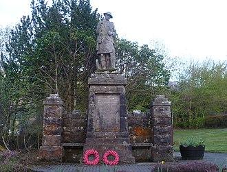 Crianlarich - Image: Crianlarich War Memorial