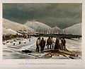 Crimean War, Balaklava; graves at the harbour. Coloured lith Wellcome V0015441.jpg
