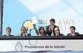 Cristina Kirchner promulgó la Ley de creación de Ferrocarriles Argentinos - 17284002403.jpg