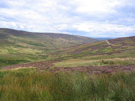 Croasdale Fell, Forest of Bowland. Croasdale Bowland.jpg