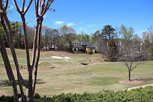 Crooked Creek (Georgia) - Golf course at Crooked Creek