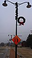 Cross Plains Pole Mounted Christmas wreaths - panoramio (3).jpg