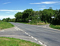 Crossroads at the Trent to Sandford Orcas road - geograph.org.uk - 442106.jpg