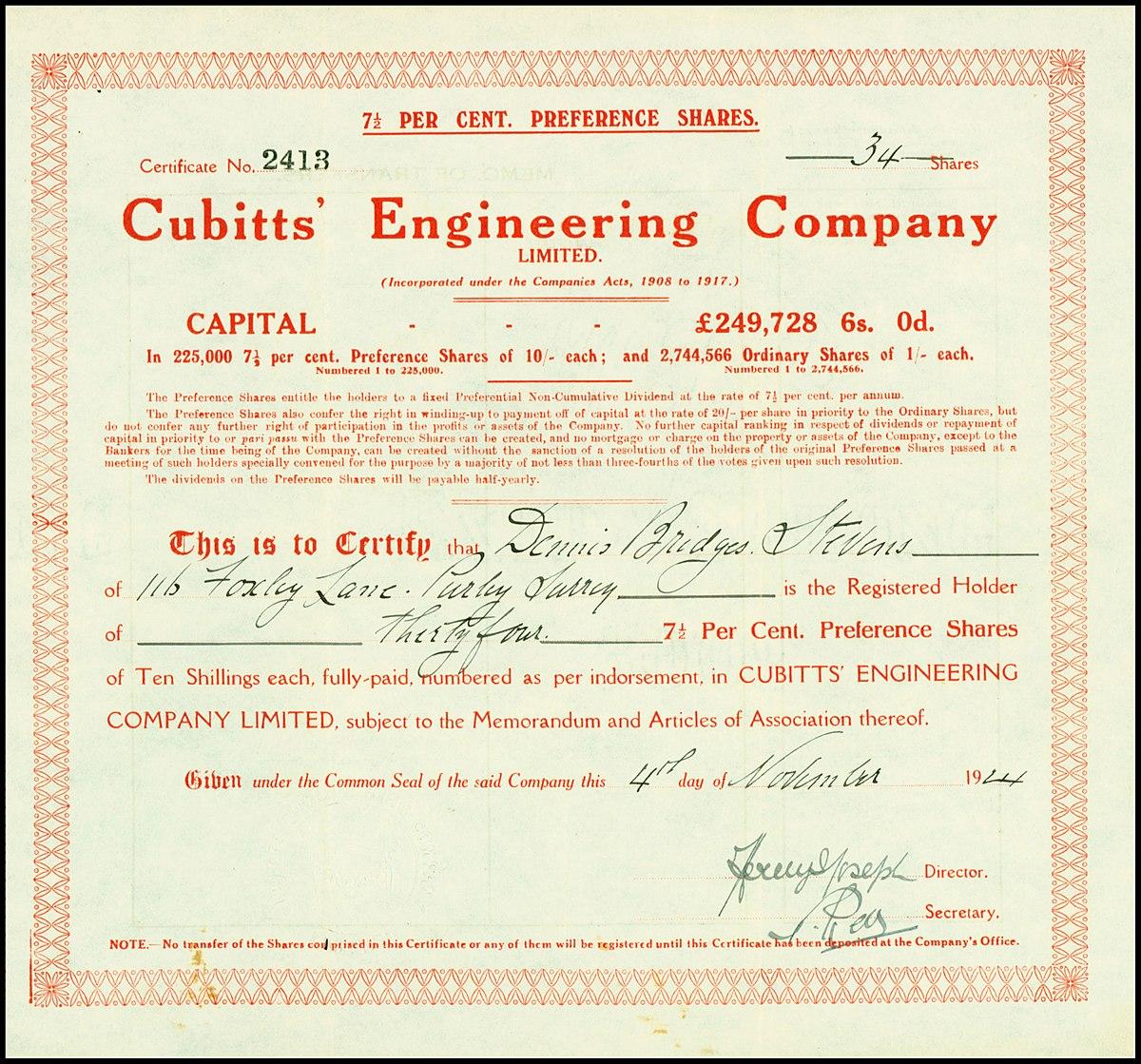 cubitt engineering � wikipedia
