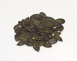 Pumpkin seed oil - Dried seed of Cucurbita pepo var. styriaca