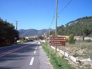 Cuges-les-Pins - Entrance of Cuges-les-Pins