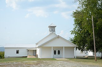 National Register of Historic Places listings in Latimer County, Oklahoma - Image: Cupco Church