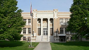 Custer County, Nebraska courthouse from E.JPG