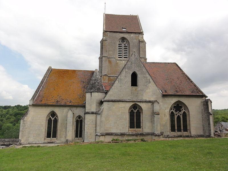 Cutry (Aisne) église