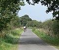 Cycling along Warren Lane - geograph.org.uk - 557282.jpg