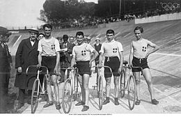 Cycling at the 1920 Summer Olympics, Italian team, team pursuit.jpg