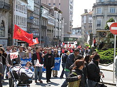 Día do traballo. Santiago de Compostela 2009 37.jpg