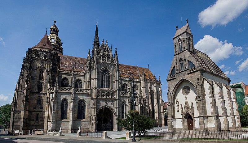 Súbor:Dóm svätej Alžbety a Kaplnka sv. Michala, Košice, Slovensko.jpg