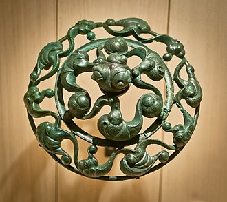 "La Tène culture - Bronze fitting from France in the ""vegetal"" style"