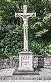 D-6-74-153-34 Friedhofskreuz Westseite.jpg