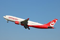 Airbus A330-200 der Air Berlin