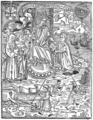 D. Manuel I com as Ordens religiosas (Livro das leis e ordenanças tocante às Igrejas, Livro II das Ordenações d'El-Rei D. Manuel, Lisboa, João Pedro Bonhomini de Cremona, 1514).png