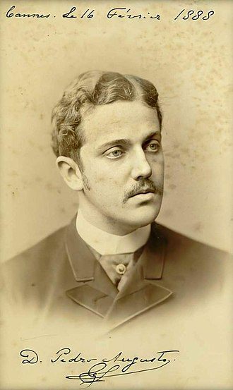 Prince Pedro Augusto of Saxe-Coburg and Gotha - Image: D. Pedro Augusto de Saxe Coburgo e Bragança