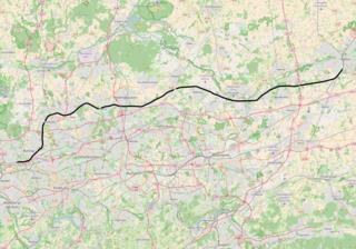 Oberhausen-Osterfeld Süd–Hamm railway railway line
