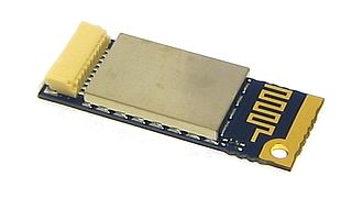 Bluetooth - An internal notebook Bluetooth card (14×36×4 mm).
