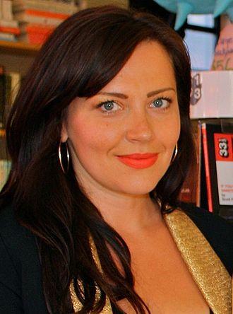 Dagmara Domińczyk - Domińczyk at her book signing in June 2013