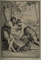 Daphnis and Chloe (?). Etching by A.J. Annedouche after P.P. Wellcome V0035935.jpg