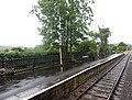 Darley Dale railway station, Peak Rail, Derbyshire and view towards Rowsley South.jpg