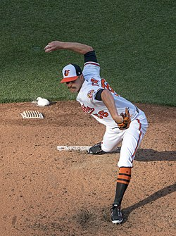 Darren O'Day on Opening Day 2018 (26233764887).jpg