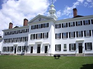 Eugen Rosenstock-Huessy - Image: Dartmouth College campus 2007 06 23 Dartmouth Hall 02