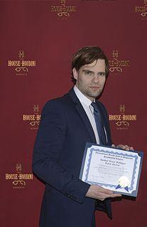 David Merlini Hungarian escape artist