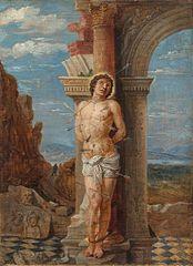 Saint Sebastian (after Andrea Mantegna)