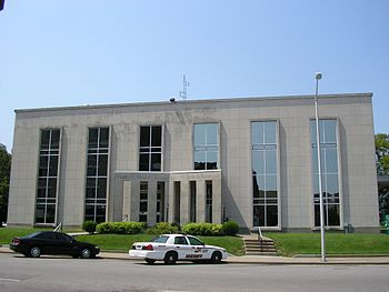 Daviess County Courthouse, at Owensboro, Kentu...