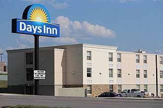 Wyndham Hotels and Resorts - Image: Days Inn in Gillette, Wyoming
