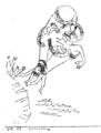 De nyeste Kunstretninger og smitsomme Sindslidelser-Paul Klee - Todessprung.png