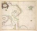 De zee custen van Ruslant, Laplant, Finmarcken, Spitsbergen en Nova Zemla; De Reviere Dwina, ofte Reviere van Archangel (NYPL b13908778-1619047).jpg