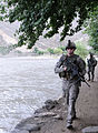 Defense.gov News Photo 100714-A-0846W-199 - U.S. Army Sgt. Kelley J. O Donnell a squad leader with 1st Battalion 327th Infantry Regiment Task Force Bulldog helps provide security as.jpg
