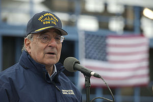 Defense.gov News Photo 111117-D-BW835-004 - Secretary of Defense Leon E. Panetta speaks to the crew of the USS Mississippi and workers from General Dynamics Electric Boat in Groton Ct. on.jpg