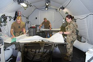 Joint Medical Service (Germany) - Field hospital Exercise